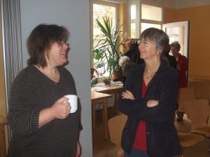 Claudia und Patricia