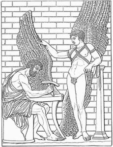 Daedalus und Ikarus