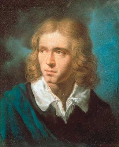 Brustbild Adalbert von Chamisso