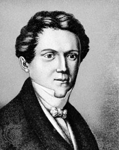 Wilhelm Hauff, Brustbild